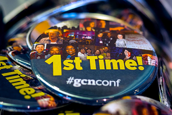 gcnconf first time